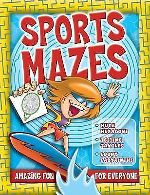 Sports Mazes (Activity), n/a, New Book