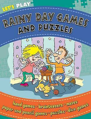 Let's Play!: Rainy Day Games, New, n/a Book