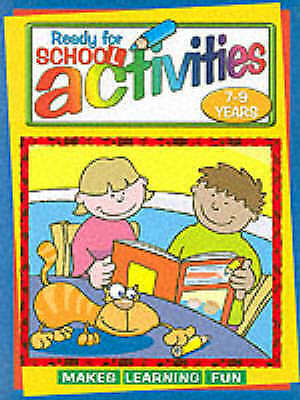 7-9 Years Activities (Ready for school), , New Book