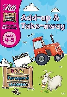 Letts Fun Farmyard Learning - Add-Up and Take-Away Age 4-5, Huggins-Cooper, Lynn