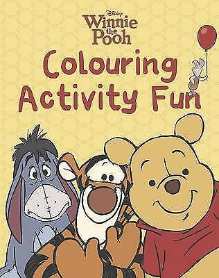 Disney Winnie the Pooh: Colour Activity Fun, , New Book