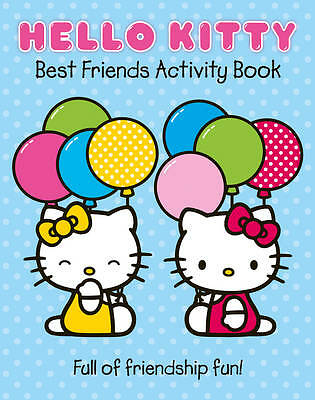 Best Friends Activity Book (Hello Kitty), , New Book