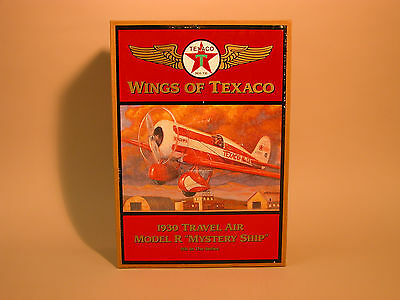 "1997 WINGS OF TEXACO 1930 TRAVEL AIR MODEL R ""MYSTERY SHIP"" 5th IN SERIES ERTL"