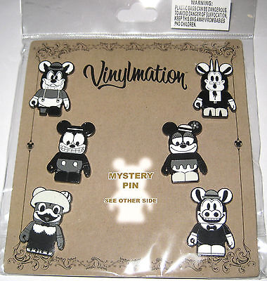 NEW✿Disney 7 Pin Set Booster Lot✿Mystery Vinylmation Classic Collection Mickey +