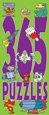 365 Puzzles, New, VARIOUS Book