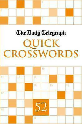 Daily Telegraph Quick Crosswords 52, Telegraph Group Limited, New Book