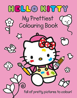 Hello Kitty - My Prettiest Colouring Book, , New Book