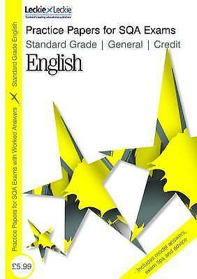 Leckie - PRACTICE PAPERS G C ENGLISH, New, Sheena Greco Book