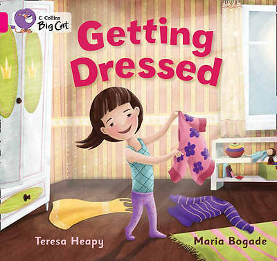 Collins Big Cat - Getting Dressed: Pink A/Band 01a, Heapy, Teresa, New Book