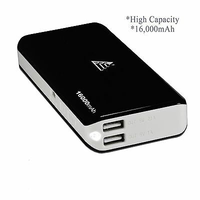 16000mAh Portable External Battery Charger Power Bank for Samsung Galaxy S4 S5