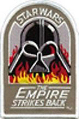 """Star Wars Empire Strikes Back-Vader Flames Logo 4.5"""" DELUXE Patch (SWPA-CD-18)"""