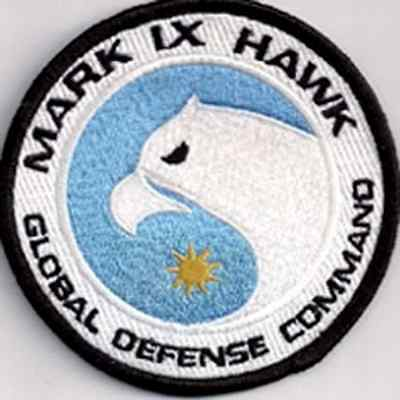 "Space:1999  Eagle Hawk Ops  Logo  3.5"" Uniform Patch- FREE S&H  (SPPA-1910)"