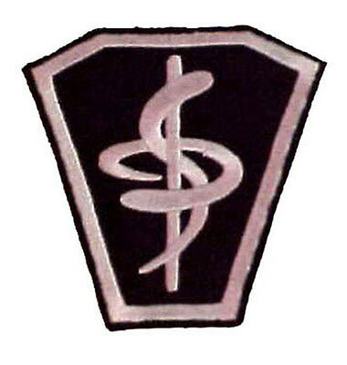 "Babylon 5 Medical Lab Coat Logo 3"" Embroidered Costume/Uniform Patch (B5PA-07)"