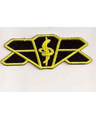 "Babylon 5 Medical 4"" Embroidered TV Costume/Uniform Patch-USA Mailed (B5PA-03)"