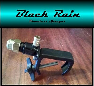 Black Rain Boomless Sprayer Nozzle for UTV/Side by Side Spot Sprayer