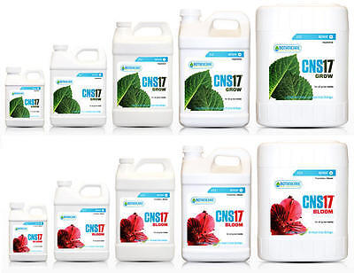 Botanicare CNS17 Grow & Bloom for ALL MEDIA - hydroponics soil coco nutrients
