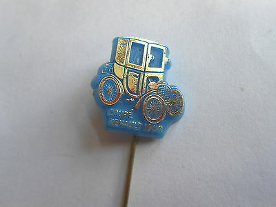 Cool Vintage Coupe Renault 1900 Antique Auto Advertising Stickpin Stick Pin