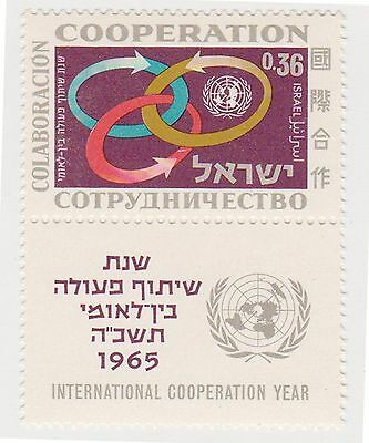 (T8-29) 1965 Israel 36a INT-CO-OP year MUH