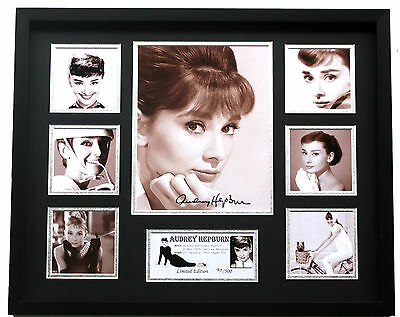 New Audrey Hepburn Signed Limited Edition Memorabilia