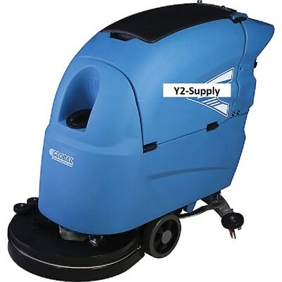 """NEW! Heavy Duty Auto Floor Scrubber 20"""" Two 215 Amp Batteries!!"""