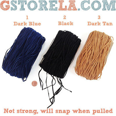 10//50pcs Black Brown Suede Leather String Necklace Cord Jewelry Making DIY X3F2