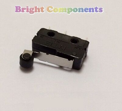 V4 Miniature Roller Lever Microswitch (Micro Switch) - 1st CLASS POST