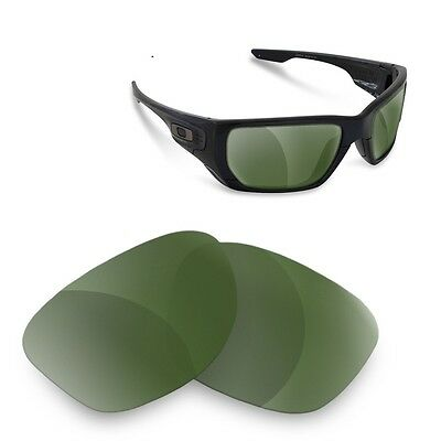 Polarized replacement lenses for Oakley Style Switch  green color