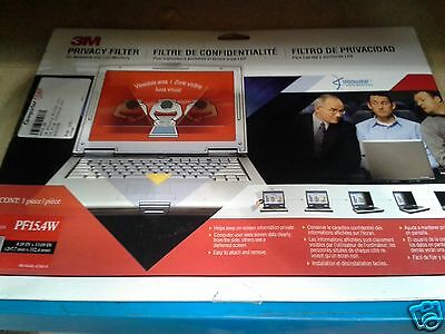 3M Notebook/LCD Privacy Monitor Filter for 15.4 Widescreen PF15.4W *BRAND NEW*