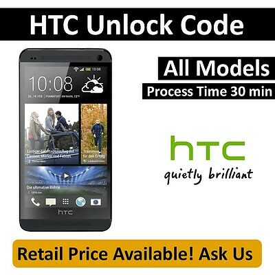Unlock Code for HTC One X PJ83100 - AT&T Smartphone Process Time 1-5 Minutes