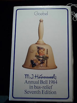 Vintage 7th Edition 1984 - Goebel MJ Hummel  - Annual Bell - Mountaineer - #706