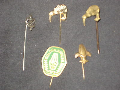 Boy Scout Stickpins, lot of 5 from all over            eb03
