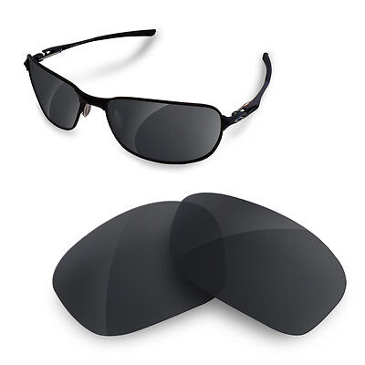 Polarized  Replacement Lenses for OAKLEY new C wire black iridium color