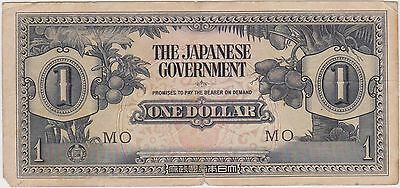 (MP46) 1940 Japan $1 invasion money (B)