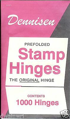 Dennisen Stamp Hinges: FIVE NEW Packages for $13.99