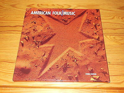 American Folk Music (Stern Edition) - V.a. / 5-Lp-Box (Lp's Mint-) & Booklet