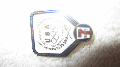 7 ELEVEN 1984 OLYMPIC PIN USOC  UNITED STATES OLYMPIC COMMITTEE