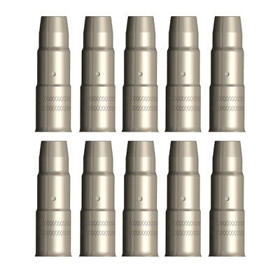 MIG Gas Nozzle / Shroud PSF 160 - ESAB Style - 10 Pack - Parweld -366-854-880