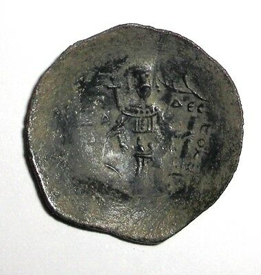 Ancient Byzantine Empire, Manuel I Comnenus, 1143-1180 AD. Bronze Cup Coin