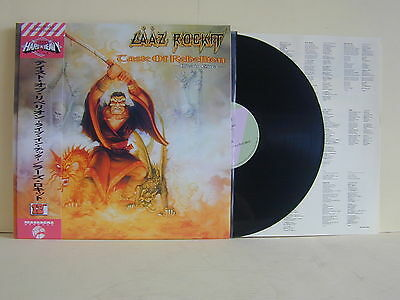 Lp-Laaz Rockit-Tastle Of Rebellion-Japan Press-Live In Cina 1992-Mint