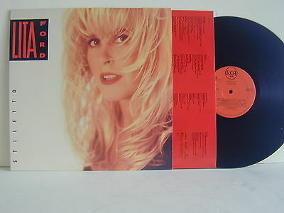 "Lp-Lita Ford-""stiletto""-U.s.a. 1990-Mint-Rca 2090-1-R"