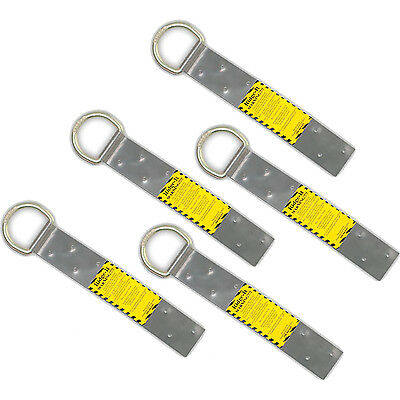 Guardian Fall Protection 00500 Ridge-It Roof Stainless Steel Safety Anchor, 5PK