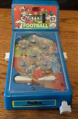 1988 Playtime Tabletop Football Pinball Game Machine for Parts