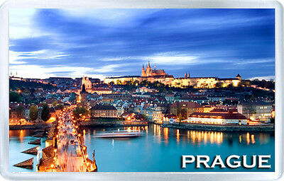 Prague Mod2 Fridge Magnet Souvenir Iman Nevera
