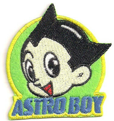 "Astro Boy Cartoon Logo- 2.5"" Patch- FREE S&H (ASTPA-01)"