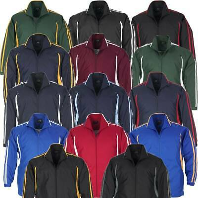 Adults Flash Tracksuit Jacket Sports Club Team Track Mens Ladies Size XS-5XL New