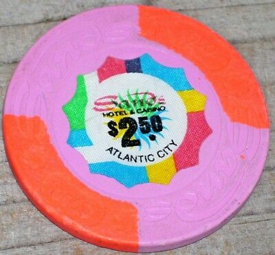 $2.50 Obs. 1St Edt Casino. Chip From The Sands Casino Atlantic City