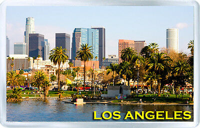 Los Angeles California Usa Fridge Magnet Souvenir Iman Nevera