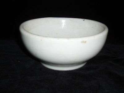 Shenango China New Castle White (Heavy) Bowl - Different Markings - VINTAGE - j