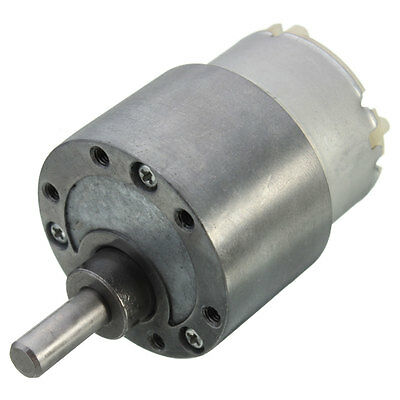 37mm 12V DC 70 RPM High Torque Gear Box Speed Control Electric Motor Low noise