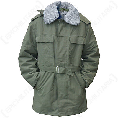 b76aa3422479c Czech M85 Parka - Military Surplus Winter Coat with Removable Fleece Lined  Army